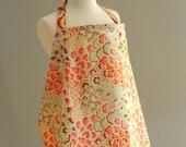 Nursing Cover- Amy Butler Designer Fabrics (Pink Peacock)