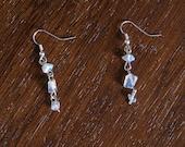 128) Moonstone Earrings