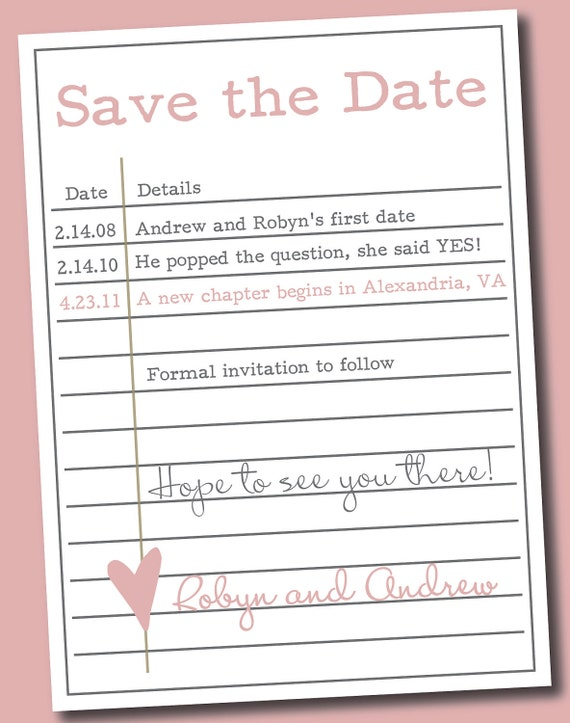 items similar to printable library card save the date on etsy
