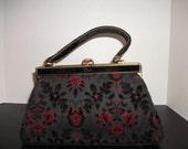 Vintage Velvet handbag/Meyers USA