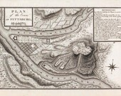 1796 Map of Pittsburgh