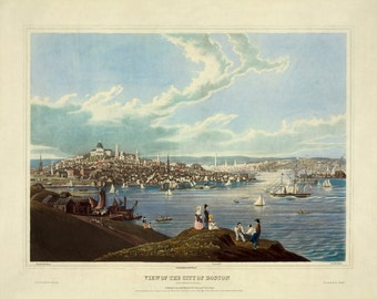 Vintage Boston Print