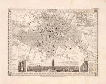 1860 Map of Berlin
