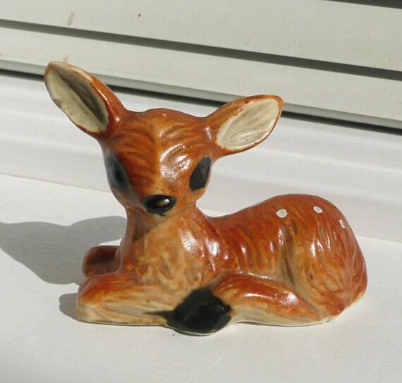 Ceramic Sitting Fawn