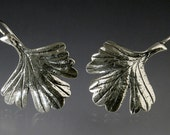 Columbine Leaf Earrings