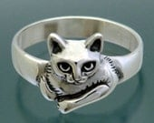 Moonpie Ring - Cat Ring - Size 4 to 9.5