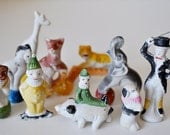 Bisque Cake Toppers Circus Set