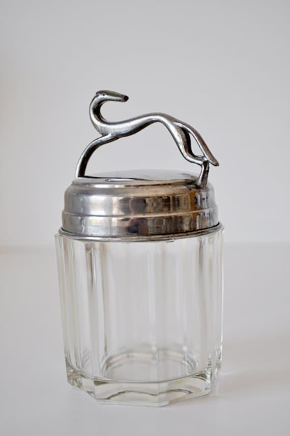 Vintage Art Deco Vanity Jar