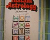 Instant Astrology - Vintage Paperback