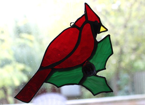 Sale 20% Off Cardinal and Holly Christmas Ornament