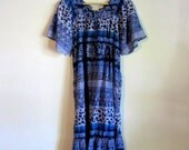 Sale //  Vintage Nepalese Loungey Maxi Dress