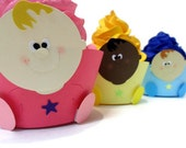 Baby Face Cupcake Wrappers - set of 12