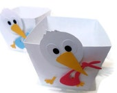 Stork Favor Box - set of 1