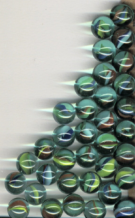 Cats Eye Marbles Vintage Collection 35 Multi Color
