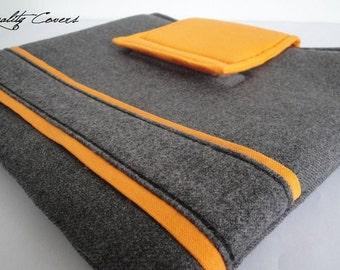 Customizable Color Fabric and Size iPad Padded Sleeve - iPad Air , iPad case , ipad 2,3, iPad Retina case iPad case , Smart Cover