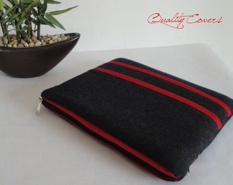 Customizable Laptop Sleeve - Laptop sleeve - Laptop cover - Fully PADDED - extra POCKET - 2 Zippers - can be any size and/or color