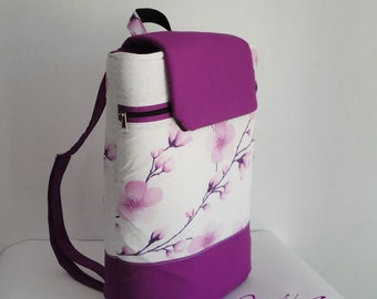 Customizable Backpack laptop for Fabrics and Size - FULLY padded - Pockets - WATERPROOF lining - padded - can be  any color and size