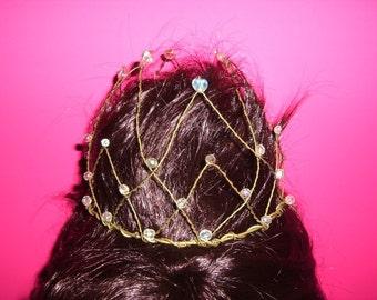 Wedding Tiara, Bridal Tiara, Medieval Tiara, Medieval Headpieces, Renaissance Tiara