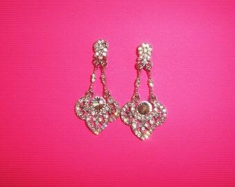 Wedding Earrings, Bridal Earrings, Crystal Bridal Earrings, Crystal Wedding Earrings