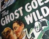 Fabulous 1947 Movie Poster Ghost Goes Wild