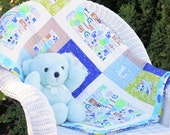 All Around The Town PDF Baby Quilt Pattern