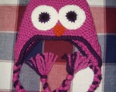 Thick N Cozy Owl Hat