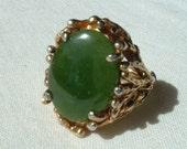 1960s jade ring