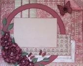 Premade 12x12 Scrapbooking Layout