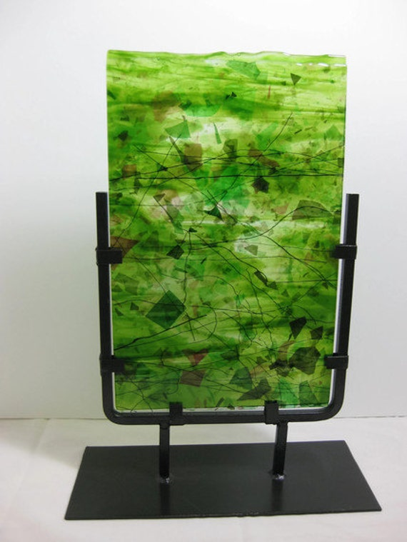 Abstract Garden Art  Sculpture Lush Green For Your Home