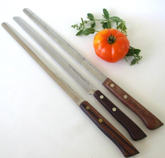Flint Arrowhead Bread Knife Set