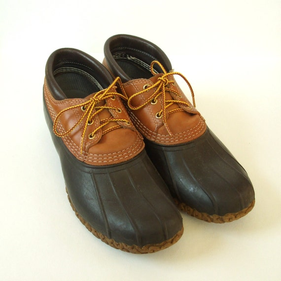 l l bean boots low rise duck boot 11 ll