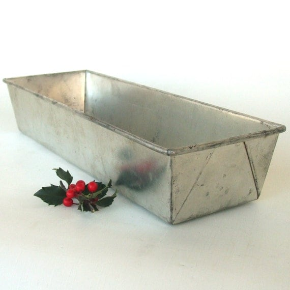 Long Loaf Pan Bread Tin Ekcoloy Silver Beauty By
