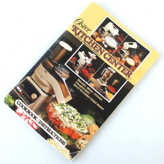 Oster Regency Kitchen Center Manual