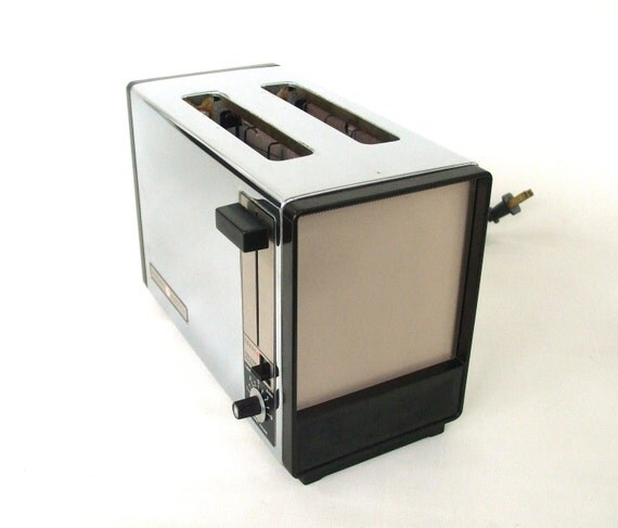 General Electric Toaster Oven ~ General electric toaster chrome vintage a t