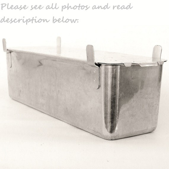 Long Angel Food Cake Pan Sliding Lid West Bend By