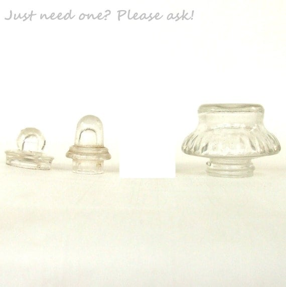"""Reserved for Melissa - 3/4"""" top only, from 3 Glass Coffee Percolator Lid Top Replacement Parts"""
