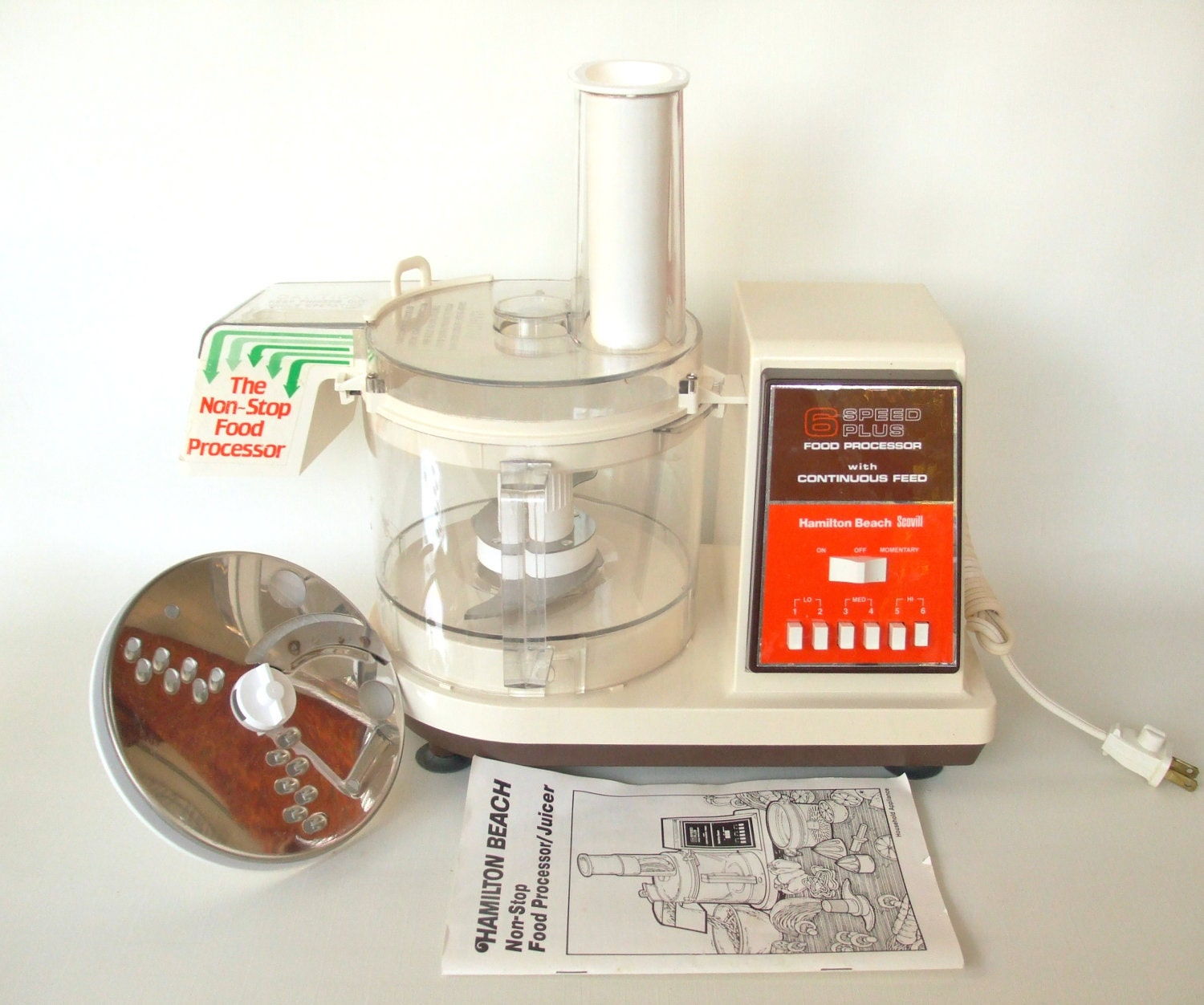 Hamilton Beach Food Processor Made In Usa 6 Speed 712 1