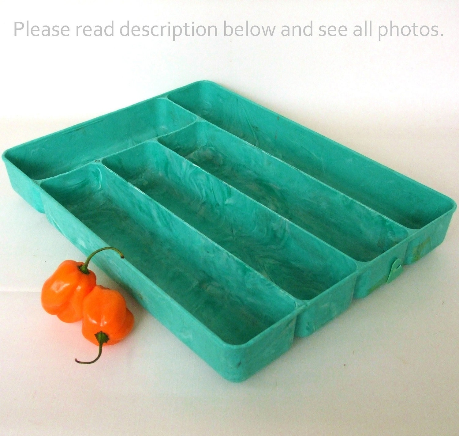 1950s Kitchen Flatware Storage Tray by LaurasLastDitch on Etsy