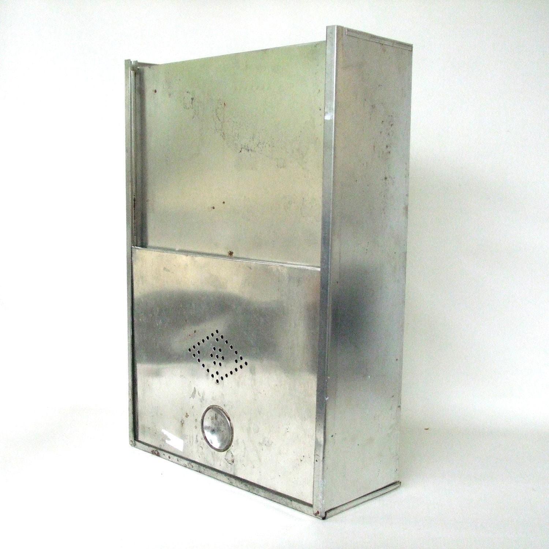 Tin Bread Box Drawer Insert Kitchen Cupboard Hoosier