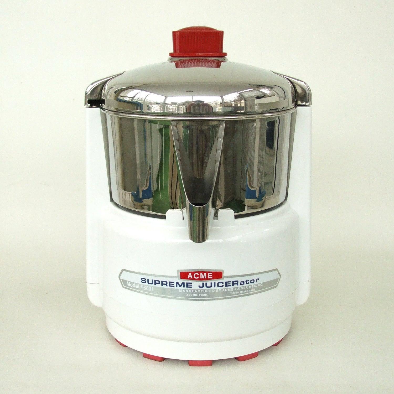 Vintage Acme Juicer 6001 Supreme Juicerator By Lauraslastditch