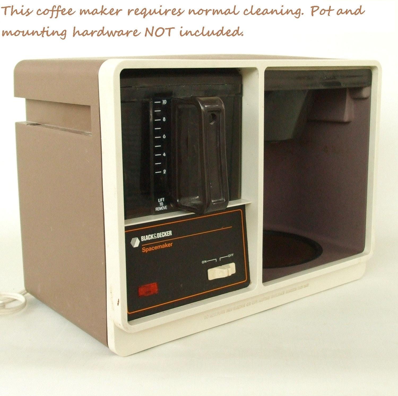 Vintage Black Decker Spacemaker Coffeemaker by LaurasLastDitch