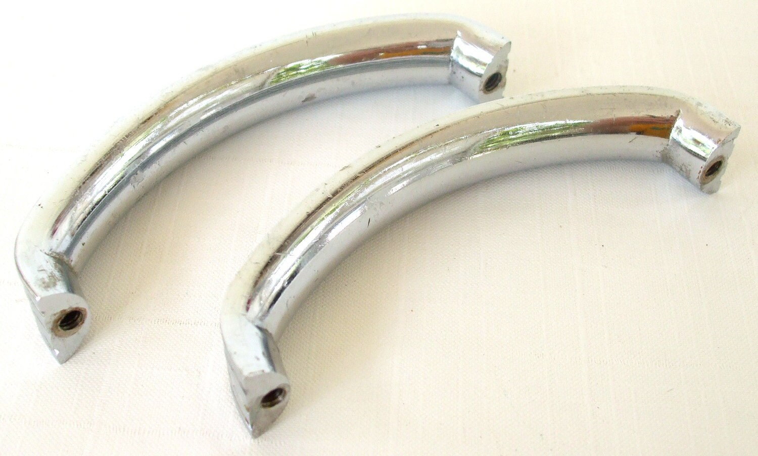 Art Deco Cupboard Handle Pulls Chrome Cabinet Hardware