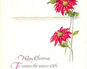 Happy Christmas - Vintage Postcard