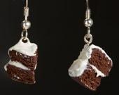 Mini Cake Slices Earrings