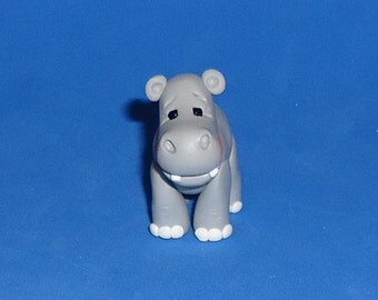 Polymer Clay Hippo