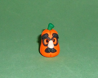 Polymer Clay Pumpkin Incognito