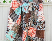 Aviary 2 Made to Order Picnic Throw Rag Quilt