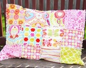 ADD ON a Rag Quilted Sham to your Quilt Order, Fabric to Match