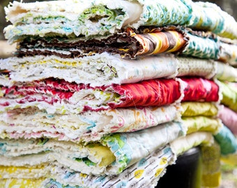 Custom KING Rag Quilt, You Choose the Fabrics, Match Your Own Decor