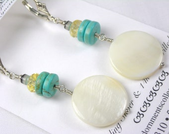 Sea and Sun Earrings
